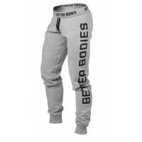Спортивные брюки Better Bodies Slim Sweatpant, Grey Melange