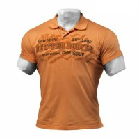 Уличное поло BB Collar Tee, Wash Orange