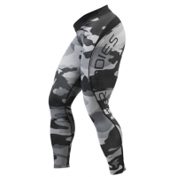 Лосины Better Bodies Camo Long Tight, Grey Camo
